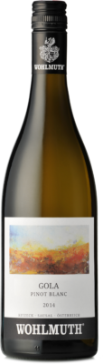 Wohlmuth Pinot Blanc Gola 2014